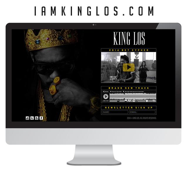 king-los-website