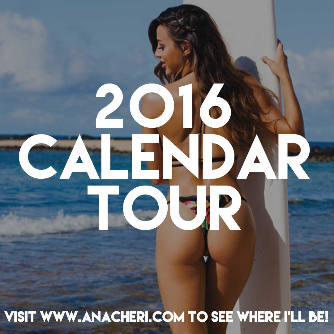 2016 calendar tour